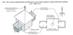 Рис.104 Схема перебудови дулібського клітьового храму в християнську церкву в XI-XIII ст.ст.